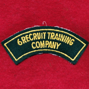 6 RTC Embroidered Shoulder Title (B)