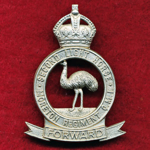 2  LHR (Moreton Light Horse) Hat badge (30/42)