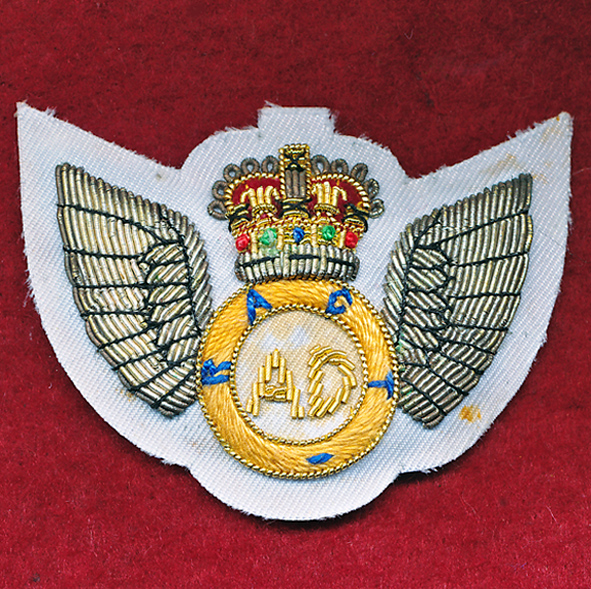 Air Dispatcher Bullion Badge  RACT   (#3)