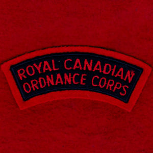 Canada - RCOC cloth shoulder title