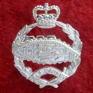 UK - Royal Tank Regiment Hat badge(A/A)