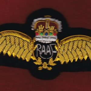 Pilot Badge - Bullion - RAAF