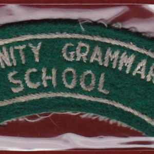 Trinity Grammar School Shoulder Title (#2)