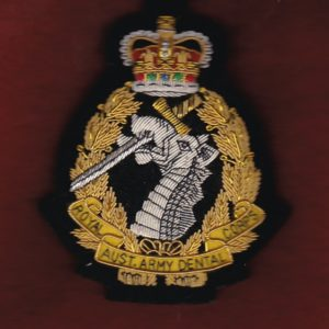 Blazer pocket badge - Royal Australian Army Dental Corps