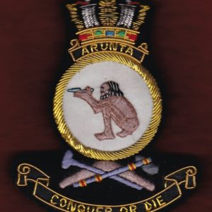 HMAS ARUNTA Ship's crest patch