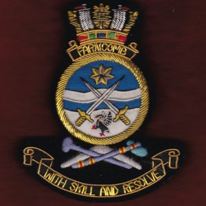 HMAS FARNCOMB Ship's crest patch