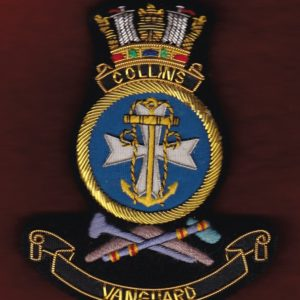 HMAS COLLINS Ship's crest patch