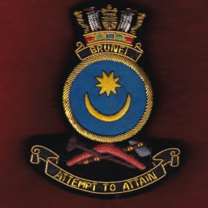 HMAS BRUNEI Ship's crest patch