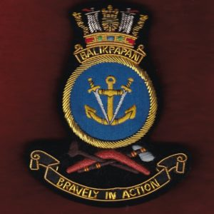 HMAS BALIKPAPAN Ship's crest patch