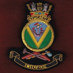 HMAS NEWCASTLE Ship's crest patch