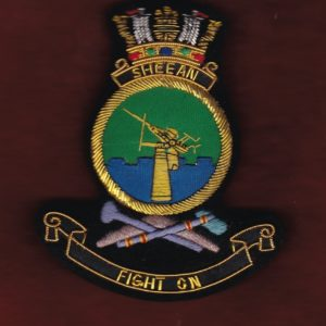 HMAS SHEEAN Ship's crest patch