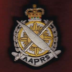 Blazer Pocket Badge - AAPRS