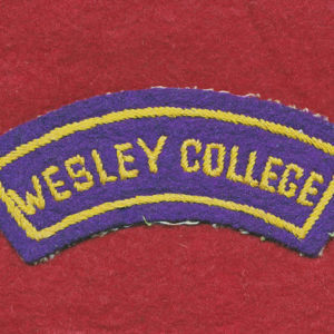 Wesley College Shoulder Title