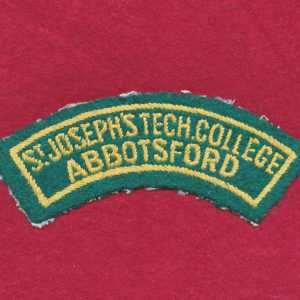 St Joseph's Tech. College/Abbotsford Shoulder Title