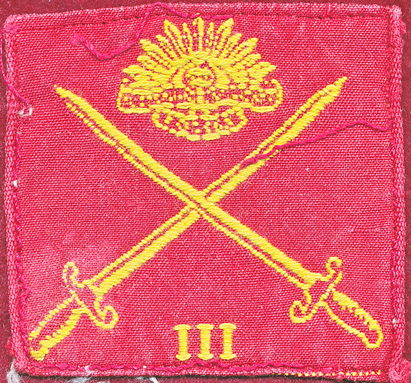 3rd Infantry Division - ca 1050s