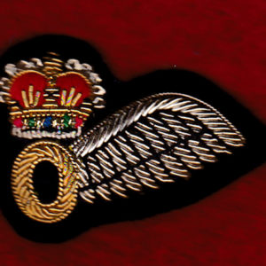 Aust Army Observer half wing - Small size - Bullion