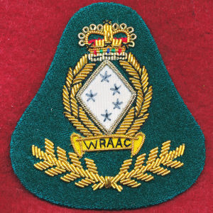 Beret Badge - Bullion - WRAAC(#1)