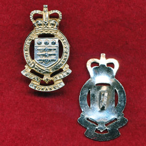 UK - Royal Army OrdnanceCorps - Collar badges x 2 (A/A)