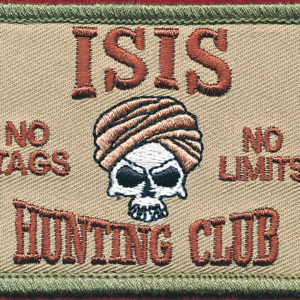 Iraq - ISIS Hunting Club Patch