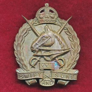 23 LHR (Barossa Light Horse) Hat Badge  (30/42)