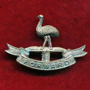 2 LHR (Moreton LH) Collar Badge (w/L)  (30/42)