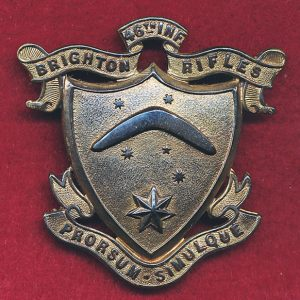46th Battalion (Brighton Rifles, VIC) Hat Badge  (12/18)