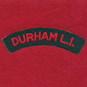 UK - DURHAM Light Infantry Shoulder Title