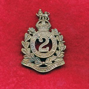 2 Australian Infantry Regiment Hat Badge (00/12)