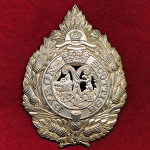41 INF BN (Byron Scottish Regt) Hat badge (48/53)