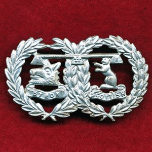 41 INF BN (Byron Scottish Regt) Collar badge (48/53)