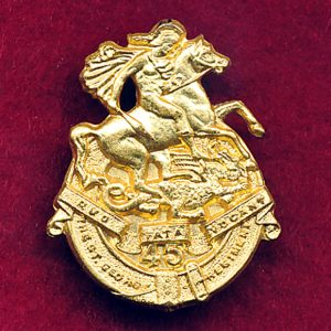 45th INF BN Collar Badge (w/R) (St George Regt)