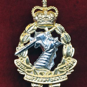 Hat Badge - RAADC  (S&H) (60/90s)