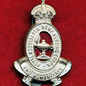Cap Badge - RAANC  (48/53)