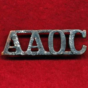 Shoulder Title (Arendsen) - AAOC