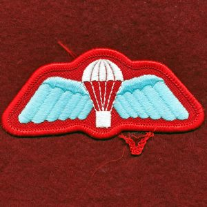 Parachute Badge - Bandsman/Winter Mess Dress
