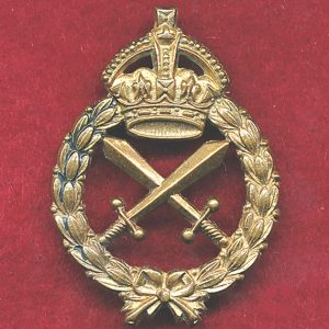 Hat Badge - Provost Corps  48/(53)