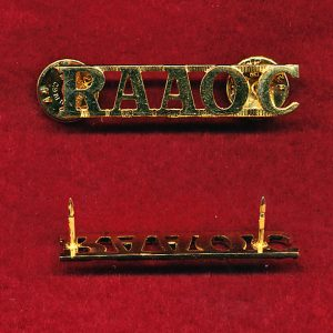 Shoulder Title - RAAOC (x1)  (post 1997)