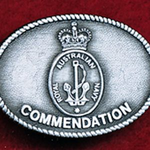 Commendation in Silver - RAN (F/S)