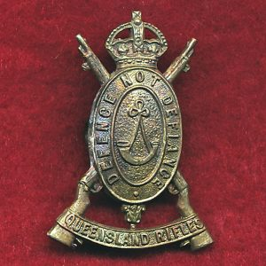 Queensland Rifles Hat/Cap/Collar Badge (00/12)