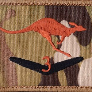 Afghanistan - MTF -3  - Novelty Rotation Patch  (U/o)
