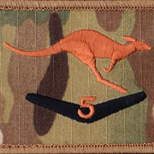 Afghanistan - MTF -5  - Novelty Rotation Patch  (U/o)