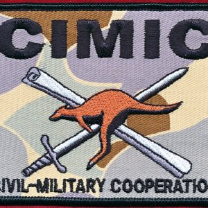 IRAQ - Civil-Military  Cooperation (CIMIC)  (Brassard)