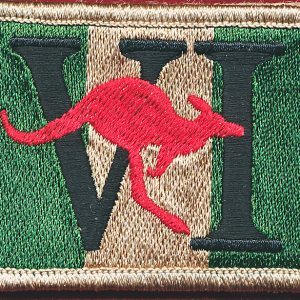 6 RAR Patch - East Timor, Iraq, Afghanistan