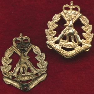 RAR Collar Badge - Interim Period (w/L)