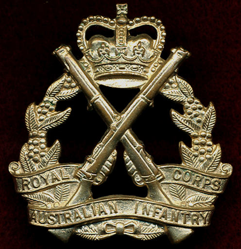 RA INF - Hat Badge (53/60) (LUKE)