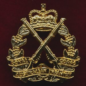 RA INF - Hat Badge (Post 1997)