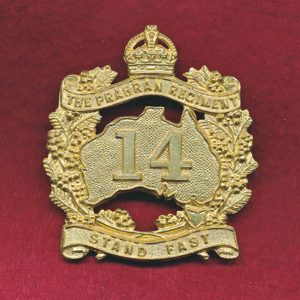 14 INF BN Hat Badge (30/42)