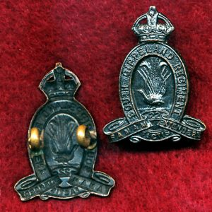 22 INF BN Collar Badge (w/L) (South Gippsland Regt.) (30/42)