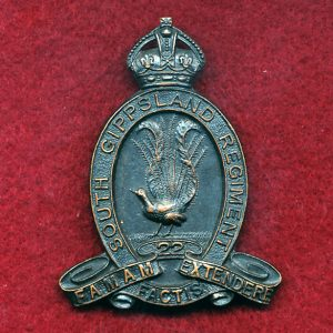 22 INF BN Hat Badge (South Gippsland Regt.) (30/42)