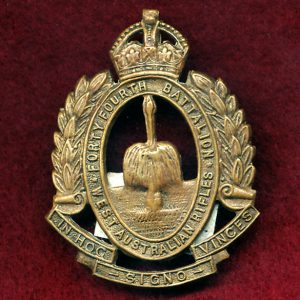 44 INF BN Hat Badge (W.A. Rifles) (30/42)